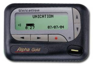 4-Line Alpha Display Pager